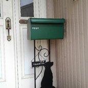 セトクラフト 郵便ポスト スタンドポスト ドッグ
